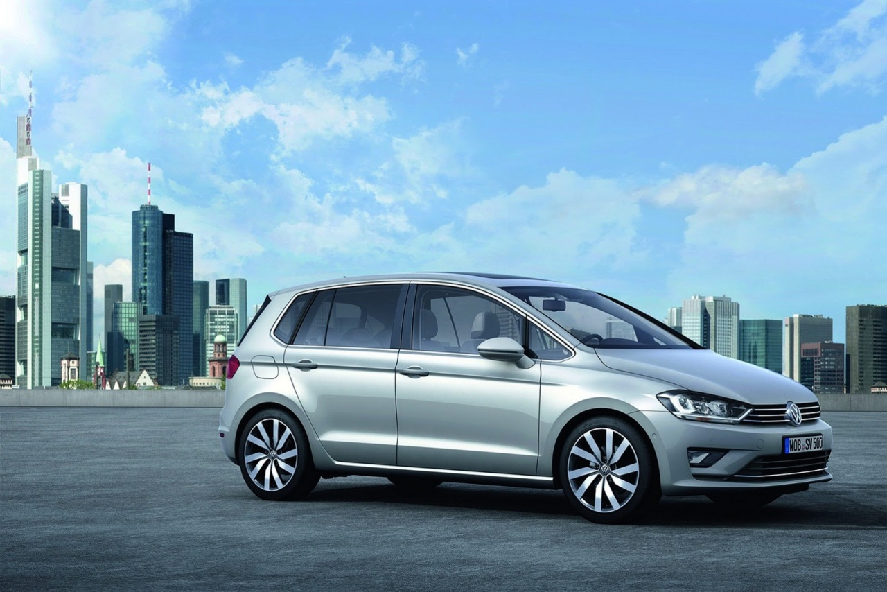 Компактвэн Sportsvan – новое обличие Volkswagen Golf